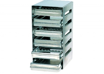 18 x 14  STAINLESS STEEL TRAY DISPENSER EMPTY