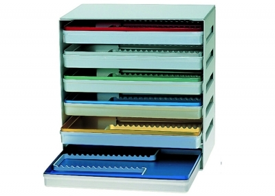 28 x 18 ALUMINIUM TRAY DISPENSER EMPTY