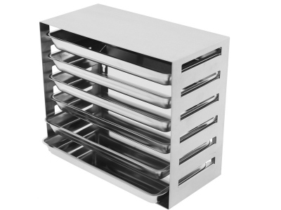 20 x 10 STAINLESS STEEL  RACK EMPTY