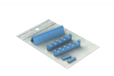Silicones Refill for: Easy Tray 18x10 - 5 instruments + Space