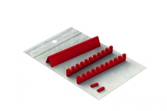Silicones Refill for: Easy Tray 18x10 - 10 instruments + Space