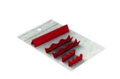 Réassort silicones: Easy Tray 18 x 14 - 3 instruments Vague