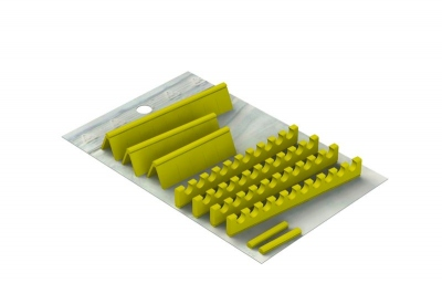 Silicones Refill for: Easy Tray 28x18 - 20 instruments + Space