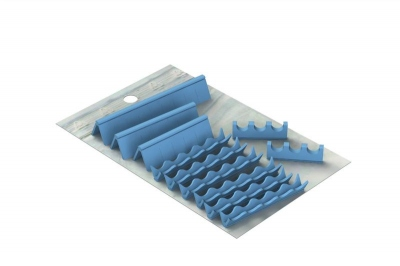 Silicones Refill for: Easy Tray 28x18 - 3 instruments + wave