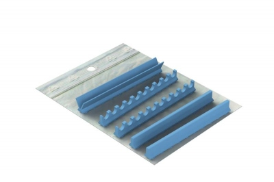 Silicone pour: Cassette 28 x 18 version  Mixte 10 Instruments