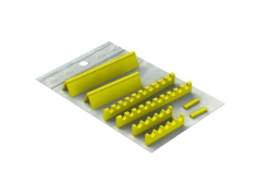 Silicones Refill for: Easy Tray 21x18 - 15 instruments + Space
