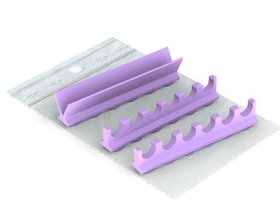 Silicone Refill for : Cassette 18 x10