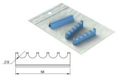 Silicone Refill for: Cassette 18 x 6