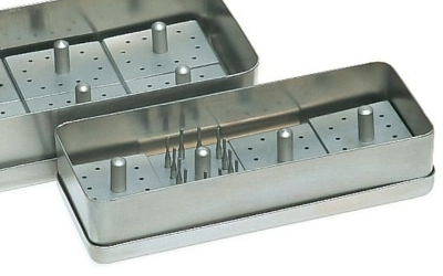 BUR BLOCKS AND STAINLESS STEEL BOXE 13x5x3