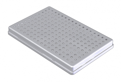 28 x 18 STAINLESS STEEL COVER PERFORATED