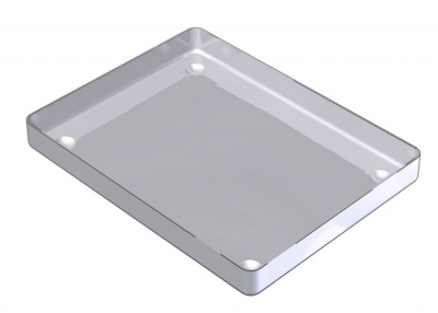 18 x 14  STAINLESS STEEL TRAY