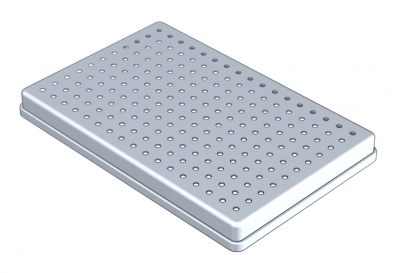 28 x 18  PERFORATED ALUMINIUM COVER
