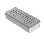 PERFORATED  ALUMINIUM BOXES 17 x 7 x 3