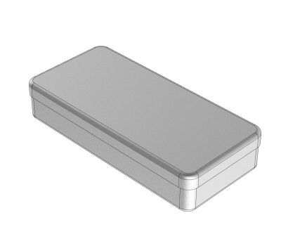 STAINLESS STEEL BOXES 21 x 10 x 3