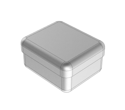 STAINLESS STEEL BOXES 5 x 4 x 3