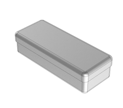 STAINLESS STEEL BOXES 13x5x3