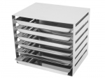 20 x 15 STAINLESS STEEL  RACK FULL