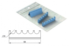 Silicones Refill for: Easy Tray 18x7 - 5 instruments