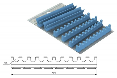 Silicone Refill for: Cassette 28 x 18 Version 20 instruments