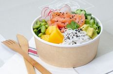 Pokebowl Saumon fumé - Mangue fraîche