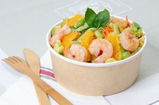 Pokebowl Gambas - Avocat - Pamplemousse