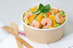 New ! Spring Bowl – Gambas & suprême d'orange