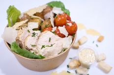 """Chicken Caesar"" Salade revisitée"