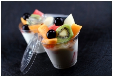 Fromage blanc 0% - Fruits frais