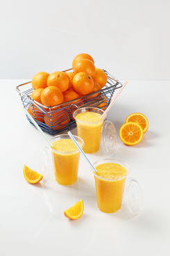 Jus de fruits frais pressés // Orange