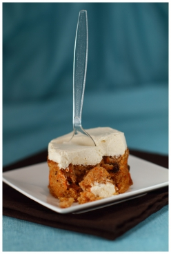 Carrot cake - glaçage au cream cheese
