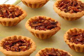 Plateau 20 mini pecan pie