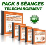 Pack 5 Séances de REPOSITIVATION MENTALE PROGRESSIVE