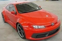 Peugeot 406 coupe 1997 2006 - Pare choc 406 coupe tuning ...