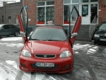 KIT LAMBO DOORS LSD HONDA CIVIC VI 3 PORTES HATCHBACK (1996/2001)