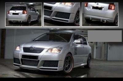 KIT CARROSSERIE COMPLET TOYOTA COROLLA E12 EXCLUSIV LINE (2001/2008)