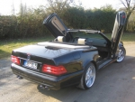 KIT LAMBO DOORS LSD MERCEDES COUPE SL W129 (1989/2001) OU COUPE SL W230 (2001/2013)