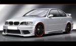 """KIT CARROSSERIE COMPLET BMW E46 COUPE """"IRON"""" (1998/2007)"""