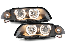 PHARES ANGEL EYES BMW E46 BERLINE OU TOURING PHASE 1 (1998/08-2001)