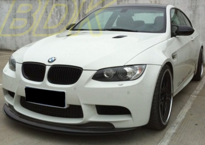 lame de pare choc avant en carbone bmw m3 e90 e92 e93 type gts 2007 2014. Black Bedroom Furniture Sets. Home Design Ideas
