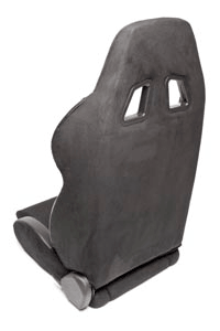 SIEGE BAQUET INCLINABLE ALCANTARA NOIR T.A