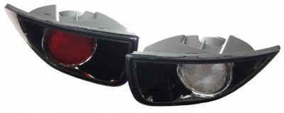 FEUX ANTIBROUILLARDS ARRIERES FORD FOCUS (10-98 A 11-2007)