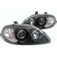 PHARES ANGEL EYES HONDA CIVIC EJ/EK (08-1995/03-1999)