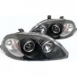 PHARES ANGEL EYES HONDA CIVIC VI PHASE 1 EJ/EK (08-1995/03-1999)