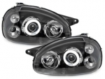 PHARES ANGEL EYES OPEL CORSA B 3/5 PORTES (1993/2001)