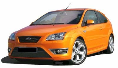 """PARE CHOC AVANT FORD FOCUS II PHASE 1 """"LOOK ST"""" SPTG (2004/2008)"""