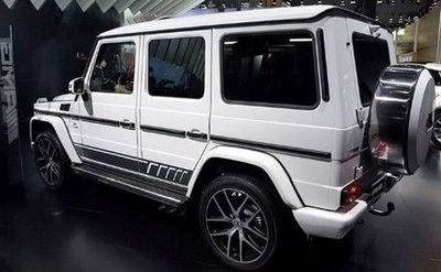 "DÉCORATIONS LATERALES MERCEDES CLASSE G W463 ""AMG DESIGN"" (1989/2017)"