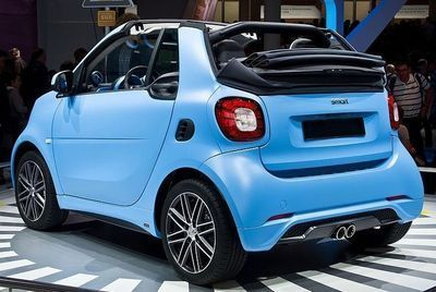 KIT CARROSSERIE COMPLET SMART 453 B STYLE (LOOK BRABUS) (2015+)