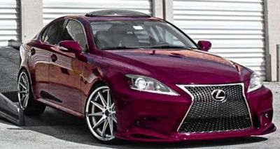 PARE CHOC AVANT COMPLET LEXUS IS TYPE XE20 LOOK ISF (2005/2013) OU XE30 PHASE 1 (2014/2017)