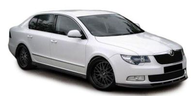 HEADLIGHTS BLACK EDITION SKODA SUPERB II 3T (03-2008/06-2013)