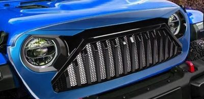 """CALANDRE """"ANGRY BIRD VERTICAL STRIPS COLORS"""" JEEP WRANGLER JL (2018+)"""